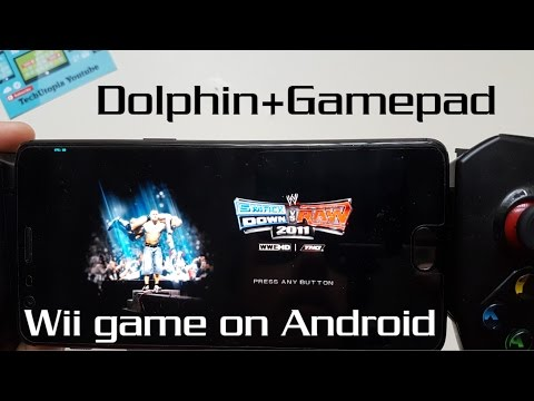 Wii Emulator test WWE SmackDown vs. Raw 2011 Gameplay Android+Gamepad/Snapdragon 821