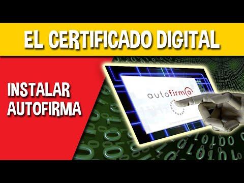 ¿Problemas con tu Certificado Digital? Instalar aplicación Autofirma.