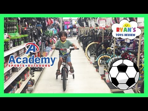 Family Fun Shopping Trip Toy Hunt for Soccer at Academy Sports and Outdoors Ryan ToysReview