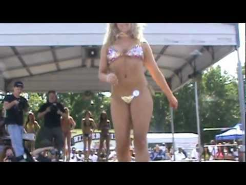 Full Bikini Contest with Some Hot Girls in Bikinis
