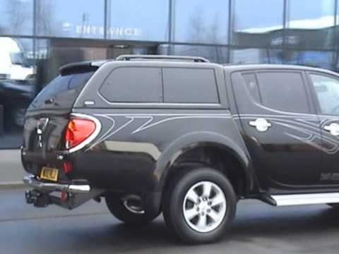 Mitsubishi L200 Alpha Gse Truck Top Fitted To The New