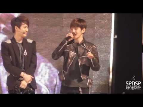 120506 EXO K beakhyun singing Music Videos