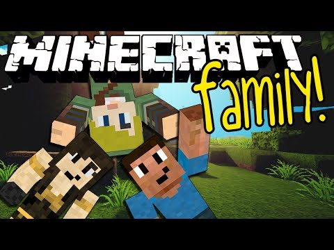 Minecraft Family #54: THE ENDERDRAGON