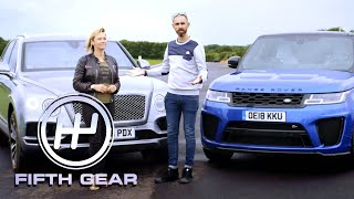 Bentley Bentayga VS Range Rover Sport SVR | Fifth Gear