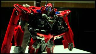 Transformers Dark of the Moon- Leader Sentinel Prime in Stop Motion