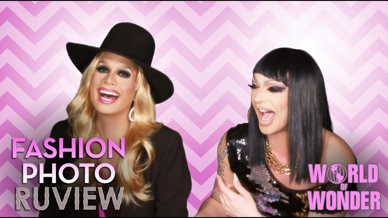 Raja And Raven Fashion Photo Ruview Season 7 RuPaul s Drag Race Fashion