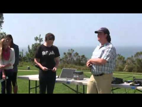 Anacapa School contacts the International Space Station - raw video