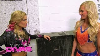 Natalya warns Summer Rae to stay away from her face: Total Divas, April 13, 2014