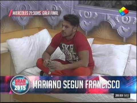 """#GH2015: Francisco: """"Mariano Berón, me das pena"""""""