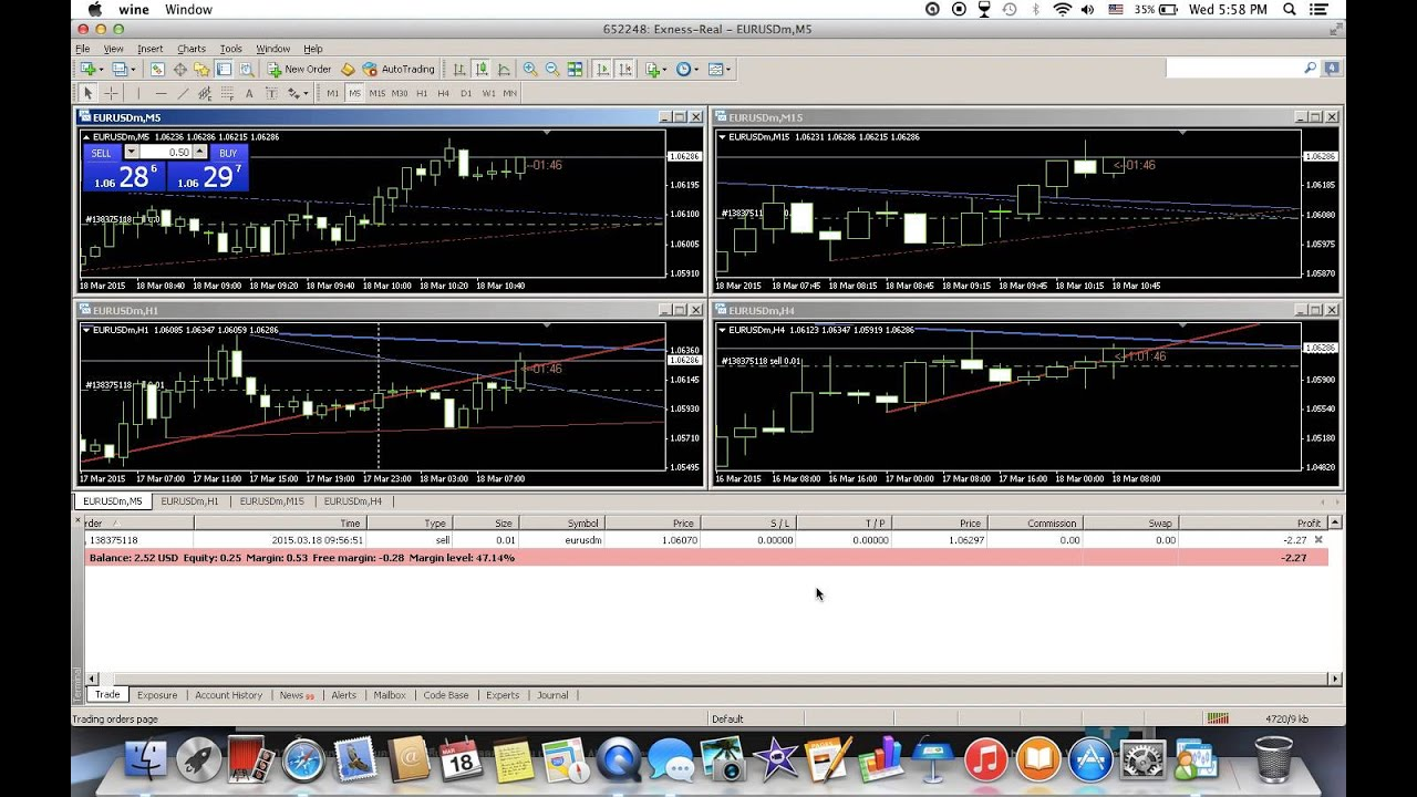 Trading forex tanpa margin call