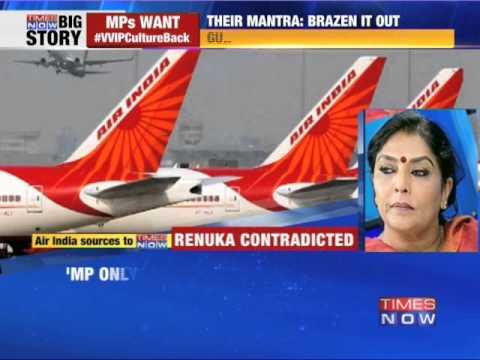 Air India staff saw Renuka Chowdhury shopping'