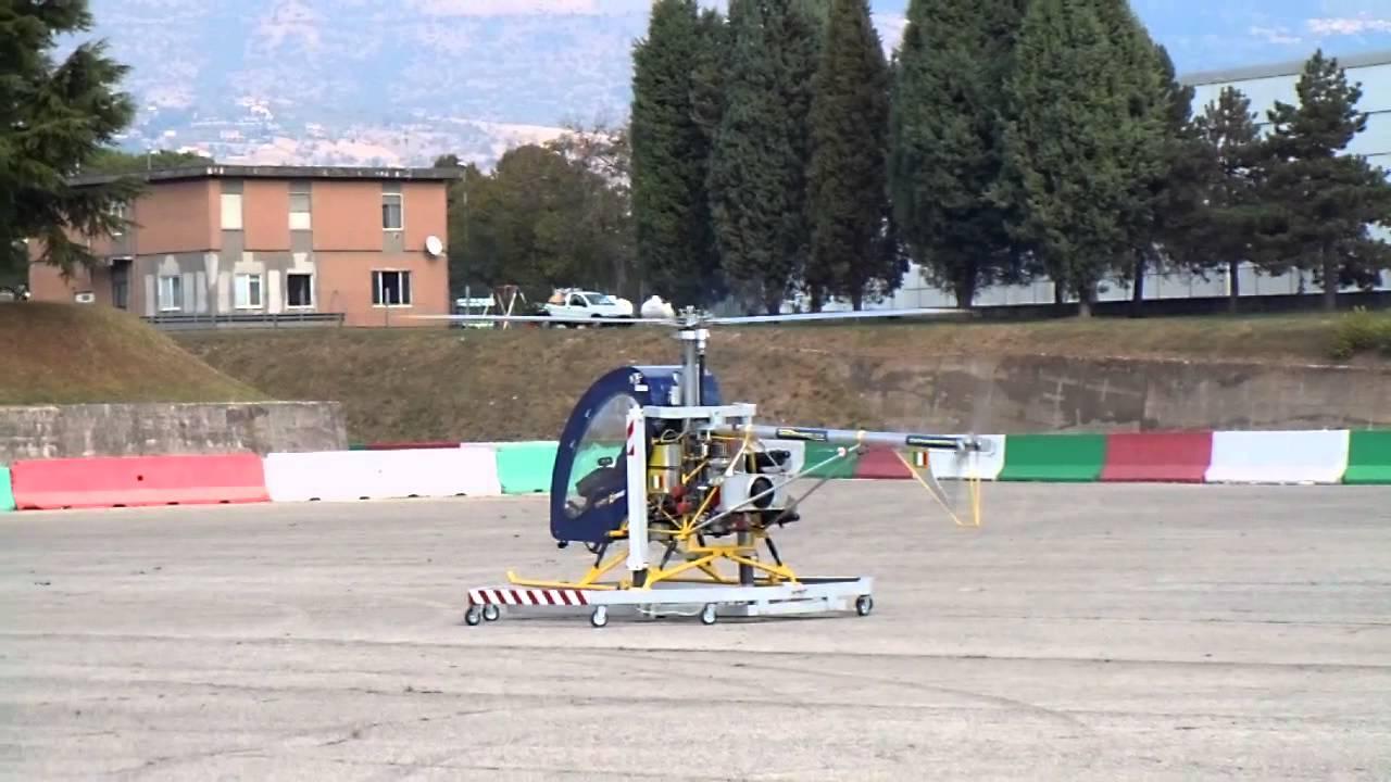 Elicottero Ultraleggero : Elicottero ultraleggero lince di helirotex primo test su