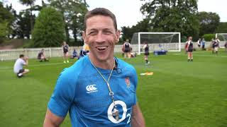Will Greenwood trains with England Women