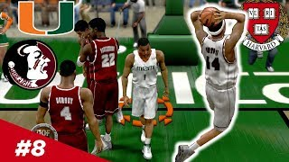 ACC Play Begins vs the Florida Schools!! - Harvard | College Hoops 2k  - Ep 8