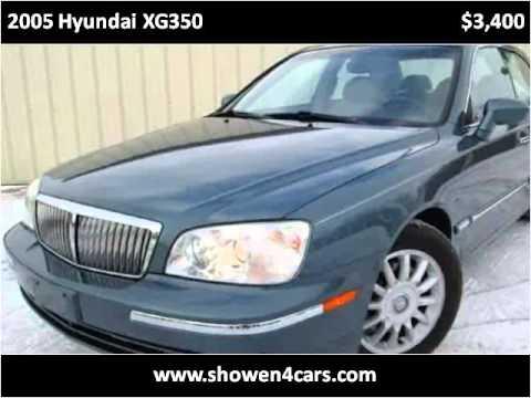 2005 hyundai xg350 used cars wilmington oh youtube for Showen motors wilmington ohio