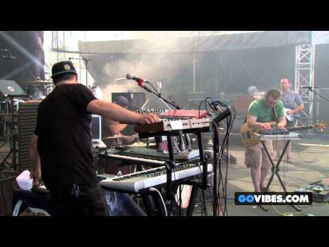 "Cosmic Dust Bunnies perform ""Flood The Streets"" at Gathering of the Vibes Music Festival 2014"