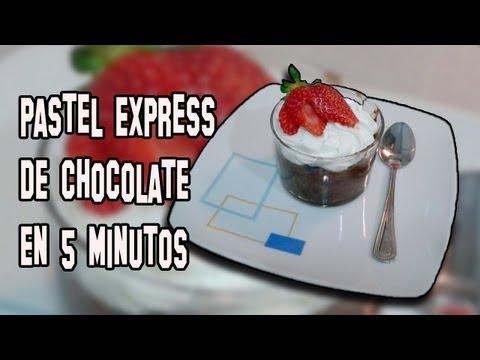 Recetas de Cocina | Como Hacer Pastel de Chocolate al Microondas 5 minutos