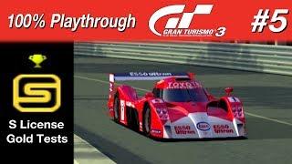 Gran Turismo 3 - #5 - S License Gold Tests (100% PT)