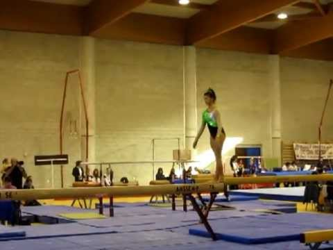 """Francesca Crisafulli – trave – II^ fase regionale """"Campionato di Specialità GAF"""""""