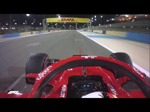 Sebastian Vettel's Pole Lap | 2018 Bahrain Grand Prix