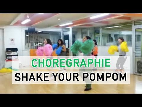 Elise Pompom Girl Class - shake Your Pom Pom Missy Elliott video