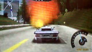 NEED FOR SPEED POURSUITE INFERNALE  GAMECUBE