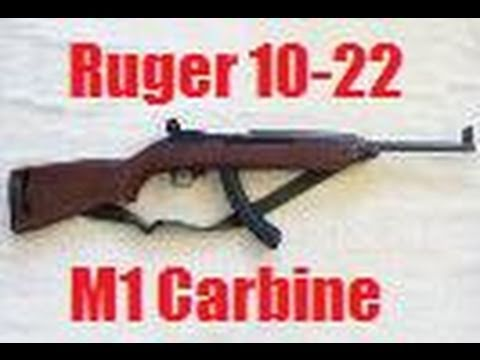 Ruger 10-22 Conversion into M1 Carbine