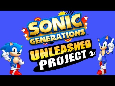 Sonic Generations - Mod Unleashed Project - Gameplay