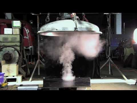Artificial tornado experiments (2009-08-02)