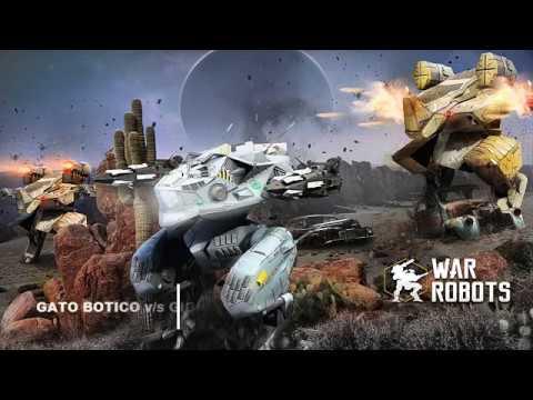 #WarRobots1contra1 | Gato Botico v/s Gigio Hunter