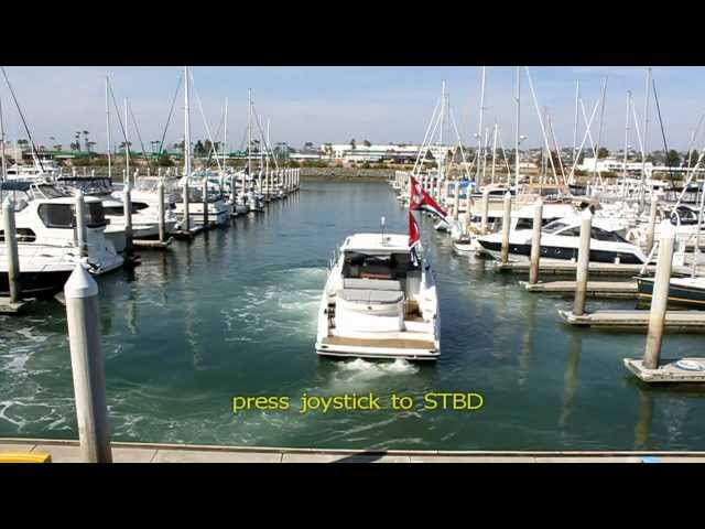 Joy Stick Maneuvering on Beneteau Gran Turismo 44 and Swift Trawler 44 with Thrusters