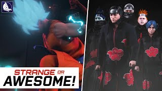 WWE 2K18 - Strange or Awesome!? #7 (Anime Edition) ft. Naruto, Dragonball super, One Piece & More