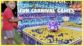 CARNIVAL GAMES FOR KIDS - KiddosPlayTime TV