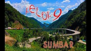 Wisata jalan Kelok sembilan Sumatera Barat Membelah Bukit
