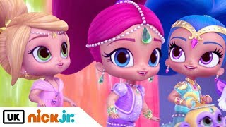 Shimmer and Shine | Sing Along: Theme Tune | Nick Jr. UK