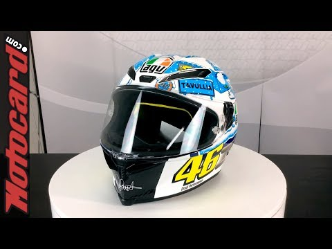 Unboxing AGV Pista GP R Rossi Winter test 2017 Limited Edition