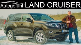 Toyota Land Cruiser FULL OFFROAD REVIEW new Facelift 2018 2019 Land Cruiser Prado - Autogefühl