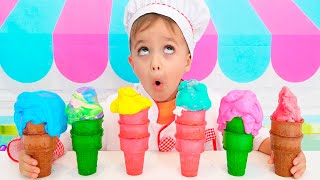 Nikita Pretend play Ice Cream Shop
