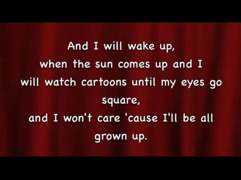 When I Grow Up - Matilda Musical w/Nona AmirimBG2016