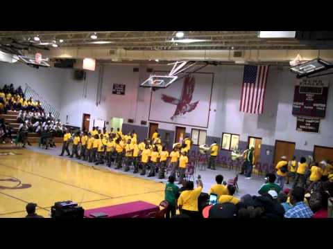 Morrow High School Marching Band(GA) Marching In @ Warren County V Westover MSP(NC)