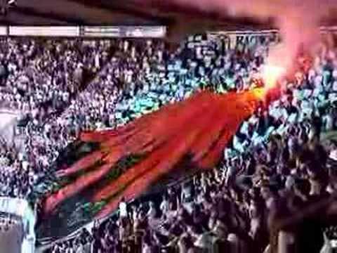RC Strasbourg - Olympique de Marseille 0 - 0 Klasse Choreo zum Saisonauftakt! FOREVER TOGETHER RCS UND KSC!!!!!!