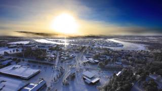 The beautiful village of karasjok