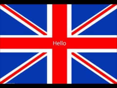 Hello in 22 languages