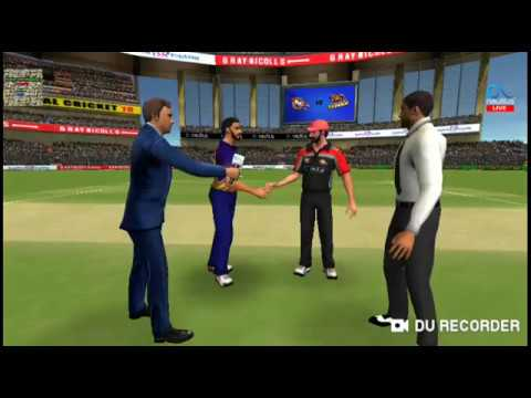 RCB VS KKR IPL 2018, FULL MATCH HIGHLIGHTS // Real cricket 18 gameplay //