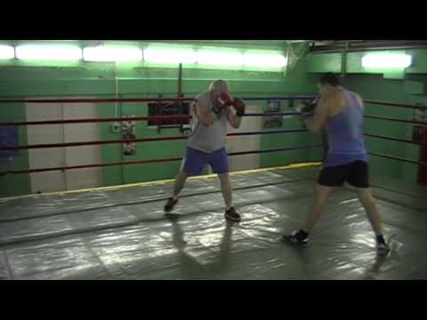 Бокс. Условный бой по заданию. | Boxing. Conditional fight for the job.
