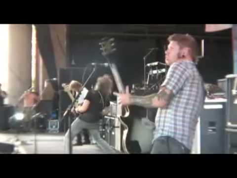 Mastodon Megalodon Mayhem fest 2008 Arizona