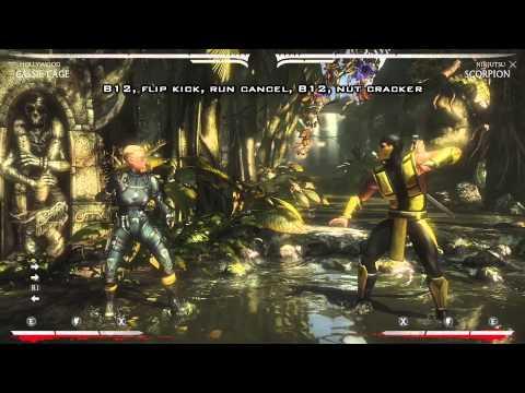 Mortal Kombat X - Cassie Cage Guide Tutorial Full Breakdown (Hollywood)