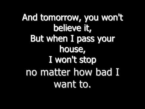 Chris Young - Tomorrow w. lyrics