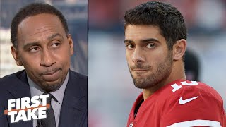 Stephen A. doesn't trust Jimmy Garoppolo to outscore the Chiefs Super Bowl LIV | First Take