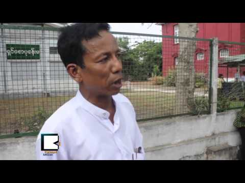 Farmers in South Yangon March in Thanlyin to Fight Land Grabbing